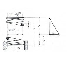 Ελατήριo Πιέσεως μήκους 4,4  mm